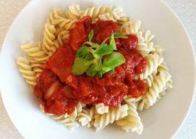 potato ricer tomato sauce